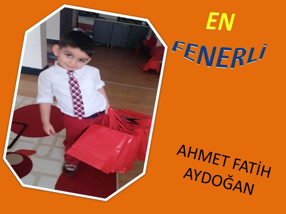 AHMET FATİH AYDOĞAN