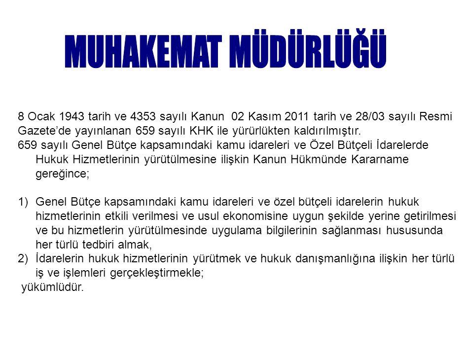 8 Ocak 1943 tarih ve 4353 sayılı Kanun 02 Kasım 2011 tarih ve 28/03 sayılı Resmi Gazete'de yayınlanan 659 sayılı KHK ile yürürlükten kaldırılmıştır.