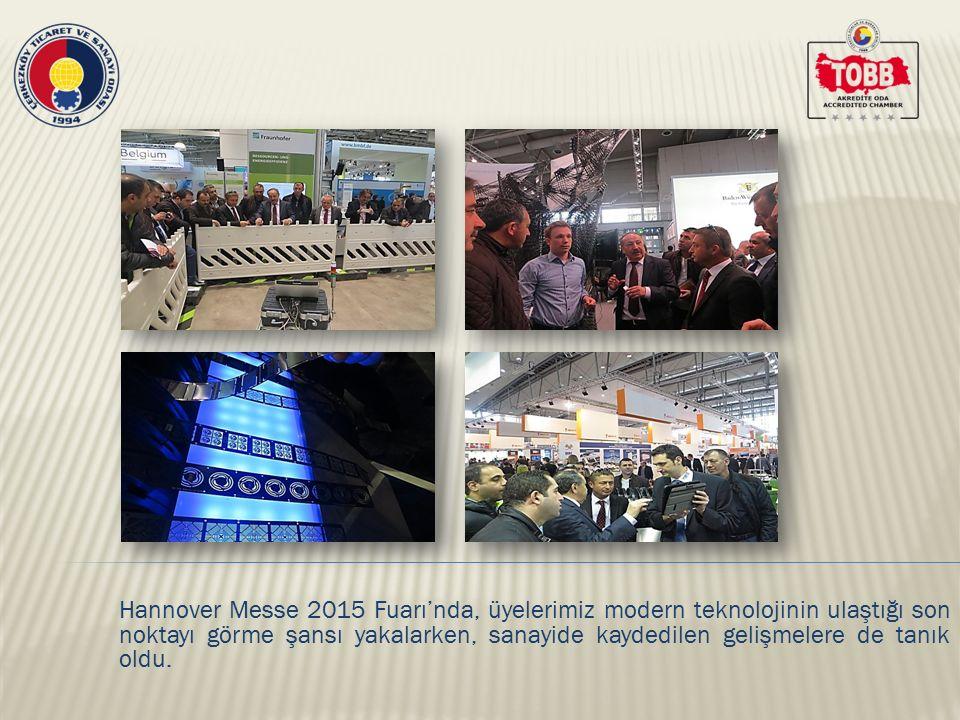 ÇTSO heyeti fuar boyunca birçok standı gezerek ürünler hakkında detaylı bilgi aldı.