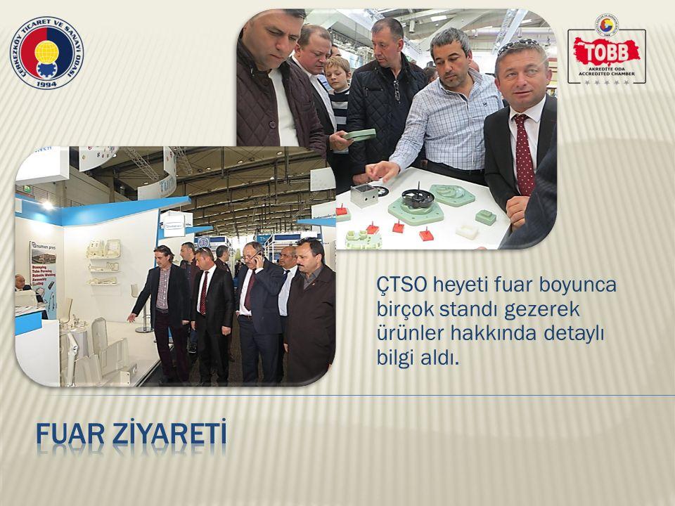 Bu yıl Türkiye'den 225 firmanın katıldığı fuarda 67 ülkeden 6 bin 290 firma yer aldı.