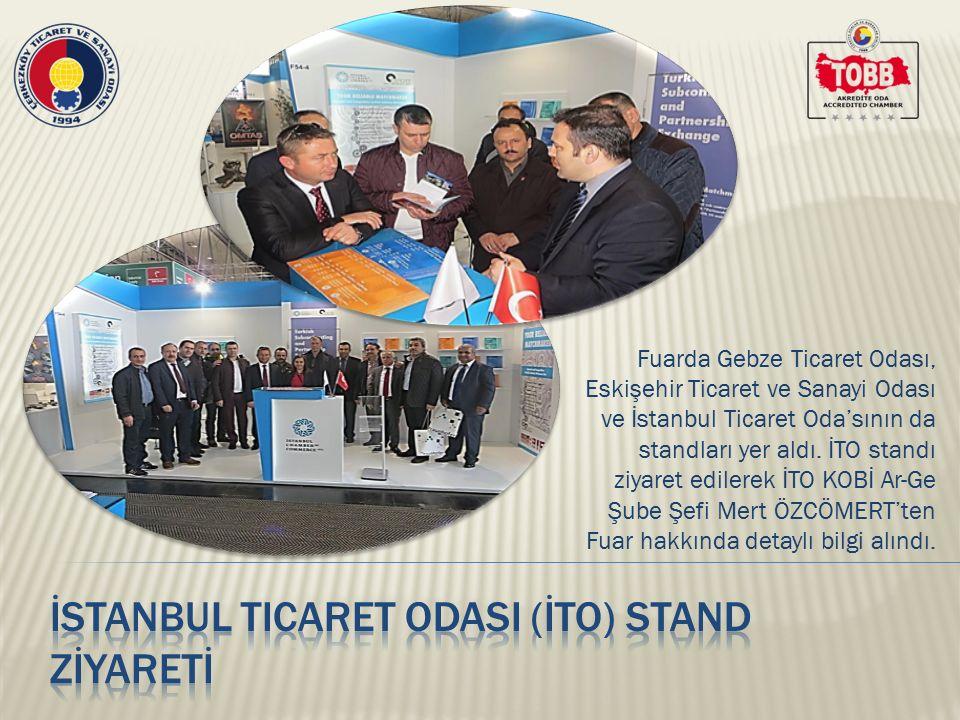 Fuarda Türk Ticaret Ataşesi Kudret CEREN ile Almanya ve Türkiye'deki sanayinin durumu görüşüldü.