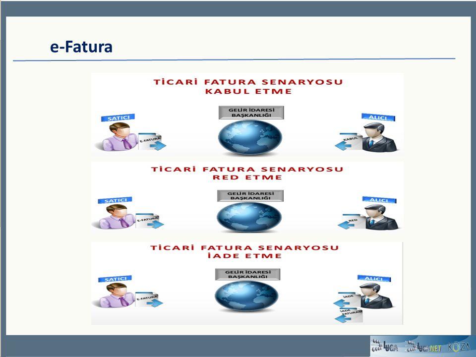e-Fatura Başvuru Elektronik fatura uygulamasına başvuru yapmak isteyen mükelleflerin veya temsilcilerinin www.efatura.gov.tr adresindeki e- Fatura başvuru bağlantısına tıklayarak gerekli formları doldurup onaylamaları gerekmektedir.