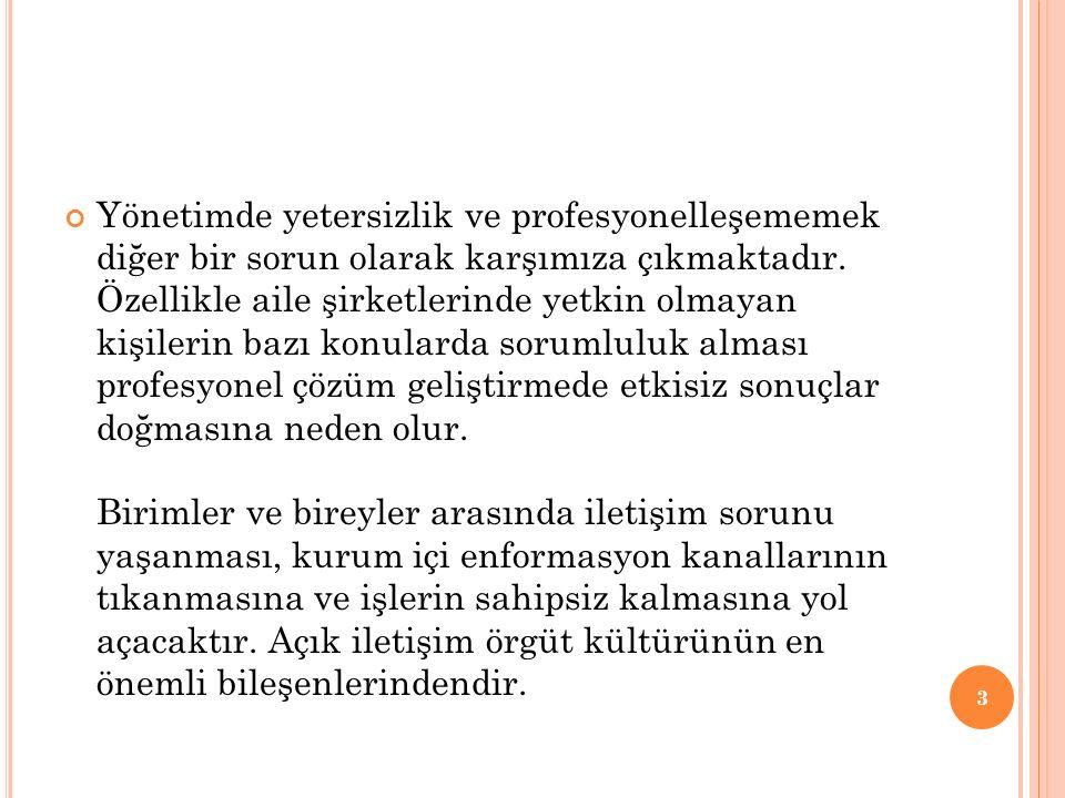 ORGANİZASYON YAPISINDAN KAYNAKLANAN YÖNETİM SORUNLARI 1-İŞ BÖLÜMÜ VE UZMANLAŞMADAN KAYNAKLANAN SORUNLAR Türkiye hastanelerinde iş bölümünden yeterince yararlanıldığını kabul etmek güçtür.