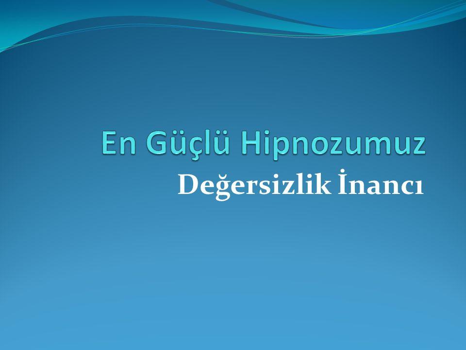 Telkinden inanca giden yol Hipnotik ilkelerin en etkili olduğu dönem çocukluk dönemidir.