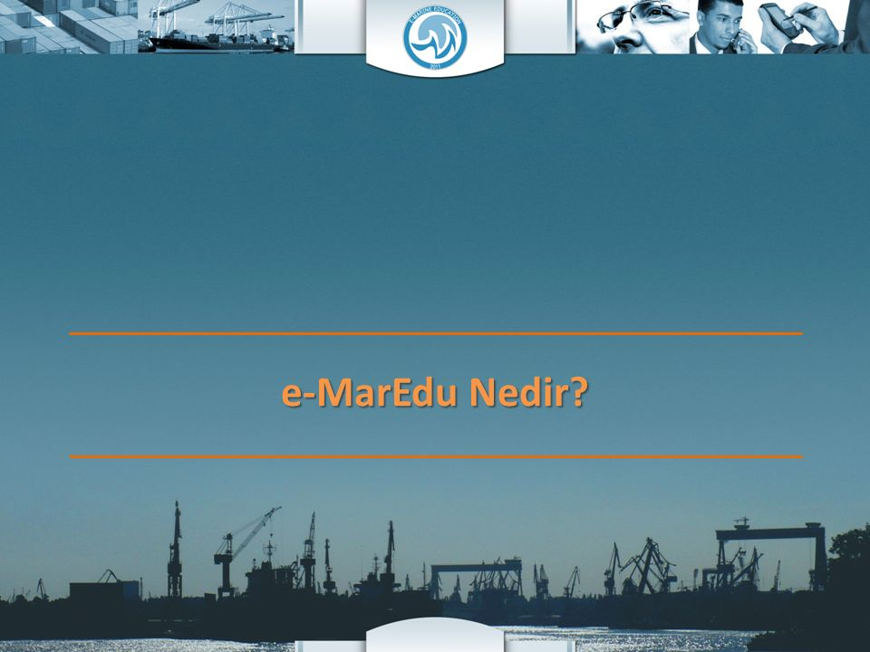 e-MarineEducation.com, Türkiye'nin ilk ve tek denizcilik eğitimi üzerine yayın yapan internet sitesidir.
