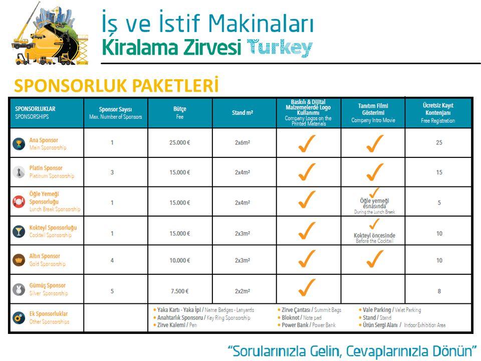 SPONSORLUK PAKETLERİ