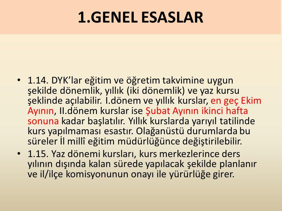 1.GENEL ESASLAR 1.14.