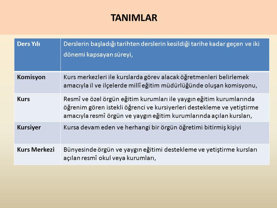 1.GENEL ESASLAR 1.19.- Ortaokulların 5, 6 ve 7. sınıflarındaki öğrenciler ile 9,10 ve 11.