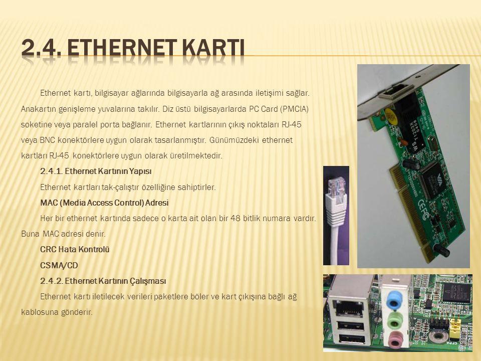 Görüntü Standartları NTSC: PAL: SECAM: 2.3.3. TV Kartının Çalışması Tv tuner görüntü kaynağından gelen sinyalleri alır. Bu sinyalleri dijital sinyalle