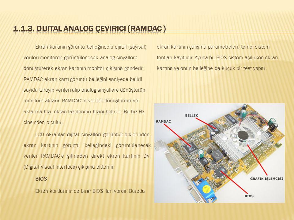 Grafik işlemcisi görüntü hesaplamalarını ve görüntü işlemlerini ekran kartında gerçekleştiren bir yongadır. GPU (Graphics Processing Unit - Grafik İşl