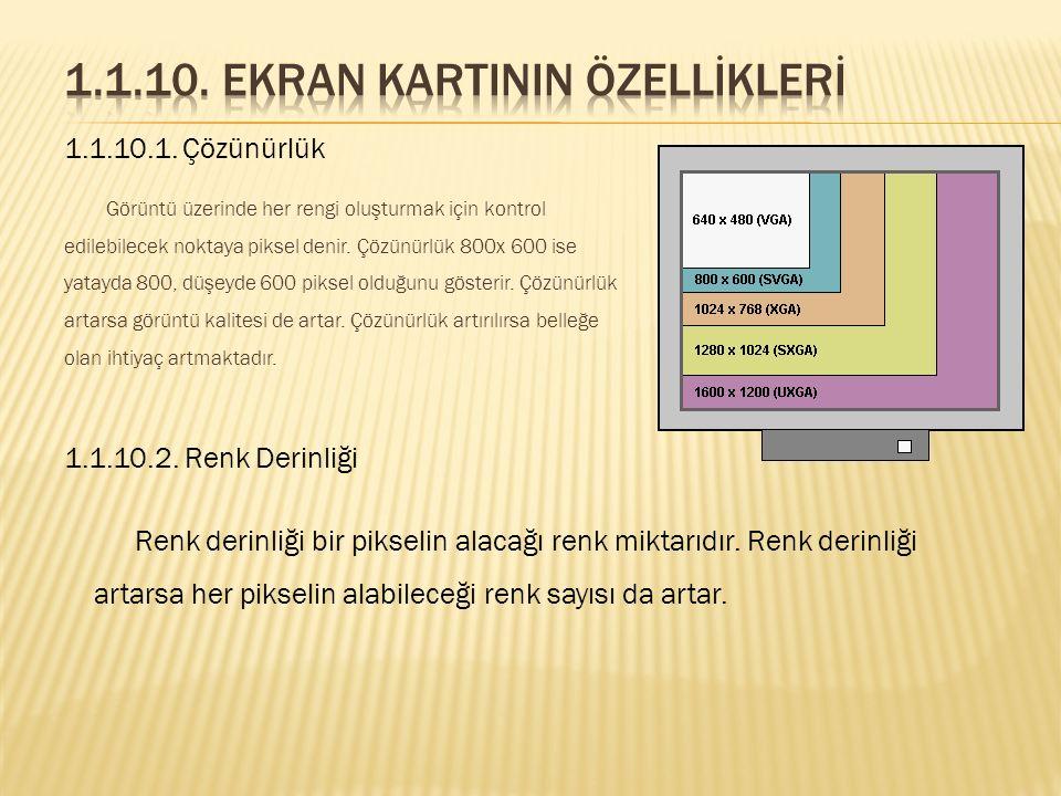 Monitörün tazeleme hızını tespit edip, monitörün tazeleme hızına göre görüntüyü monitöre gönderir. 1.1.9. Video Codec Video görüntüleri sıkıştırılmış