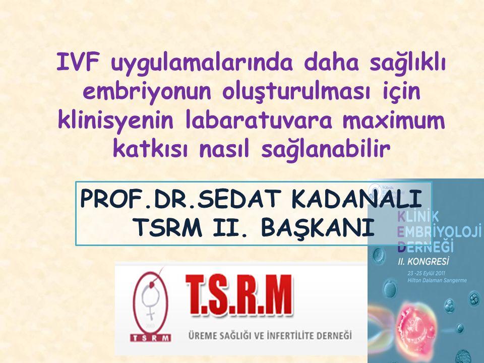 PROF.DR.SEDAT KADANALI TSRM II.