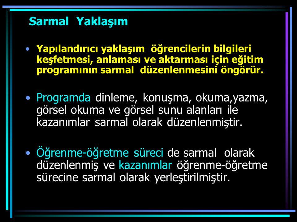 Temel Beceriler Türkçeyi doğru, etkili ve güzel kullanma, Eleştirel düşünme, Yaratıcı düşünme, İletişim kurma, Problem çözme, Araştırma, Bilgi teknolo
