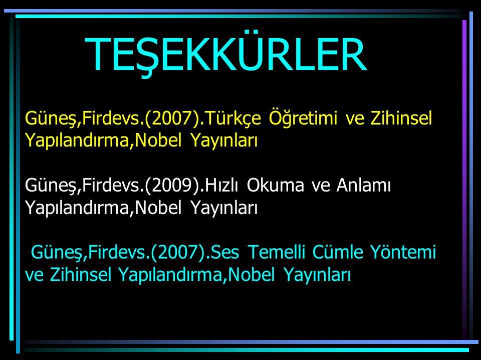 Türkçe Öğretimi OECD 2007 Raporunda, tüm dünya ülkelerine ilkokuma yazma öğretim yöntemi olarak: Öğrencilerin dil,zihin ve anlama becerilerini gelişti