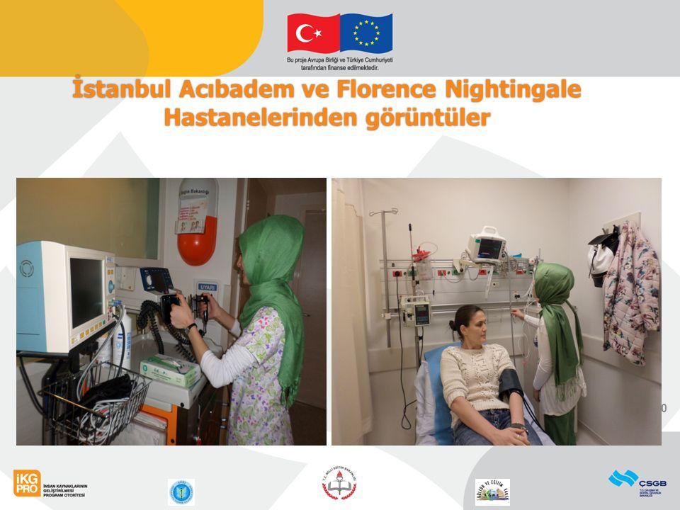 10 İstanbul Acıbadem ve Florence Nightingale Hastanelerinden görüntüler