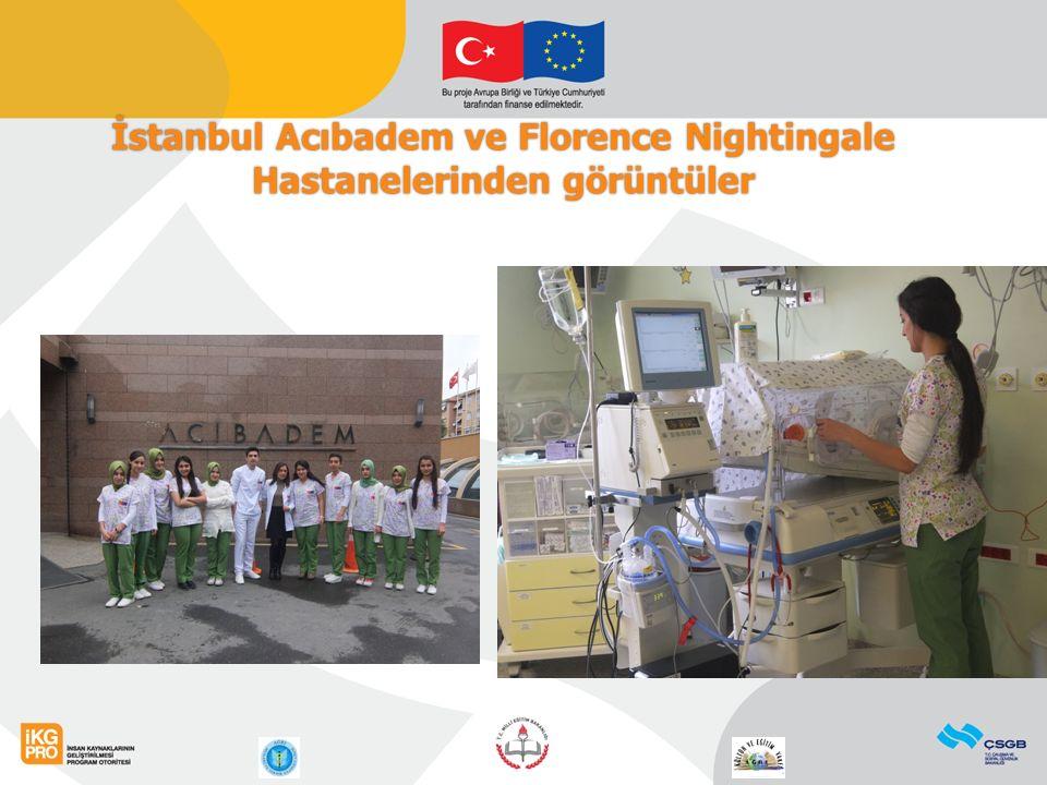 11 İstanbul Acıbadem ve Florence Nightingale Hastanelerinden görüntüler