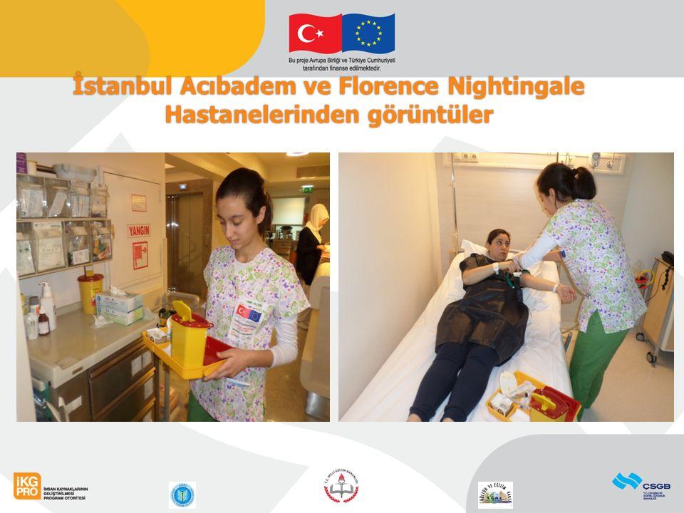 7 İstanbul Acıbadem ve Florence Nightingale Hastanelerinden görüntüler