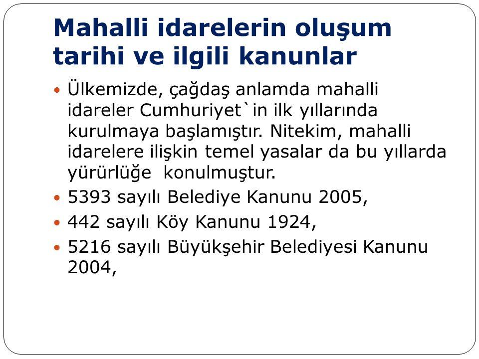 5302 sayılı Türkiye Cumhuriyeti ile Avrupa Birliği Arasındaki Mali İşbirliği Çerçevesinde Temin Edilecek Mali Yardımların Uygulanmasına İlişkin Çerçeve Anlaşmanın Onaylanmasının Uygun Bulunmasına Dair Kanun 2005, 5355 sayılı Mahalli İdare Birlikleri Kanunu 2005, tarihlidir.