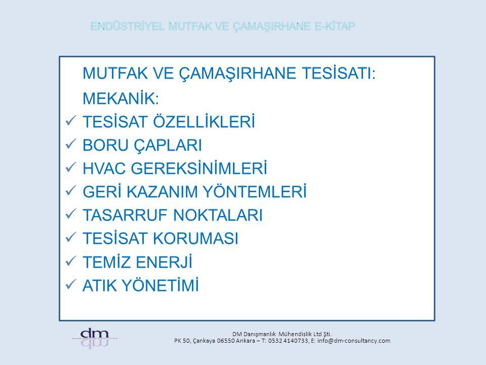 DM Danışmanlık Mühendislik Ltd Şti.
