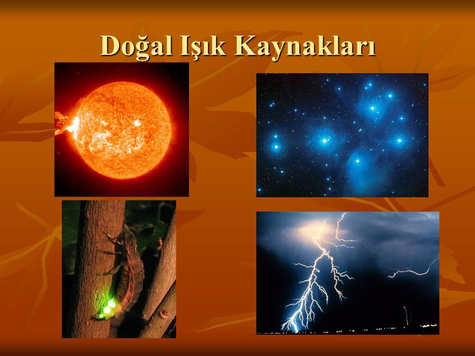 Doğal Işık Kaynakları