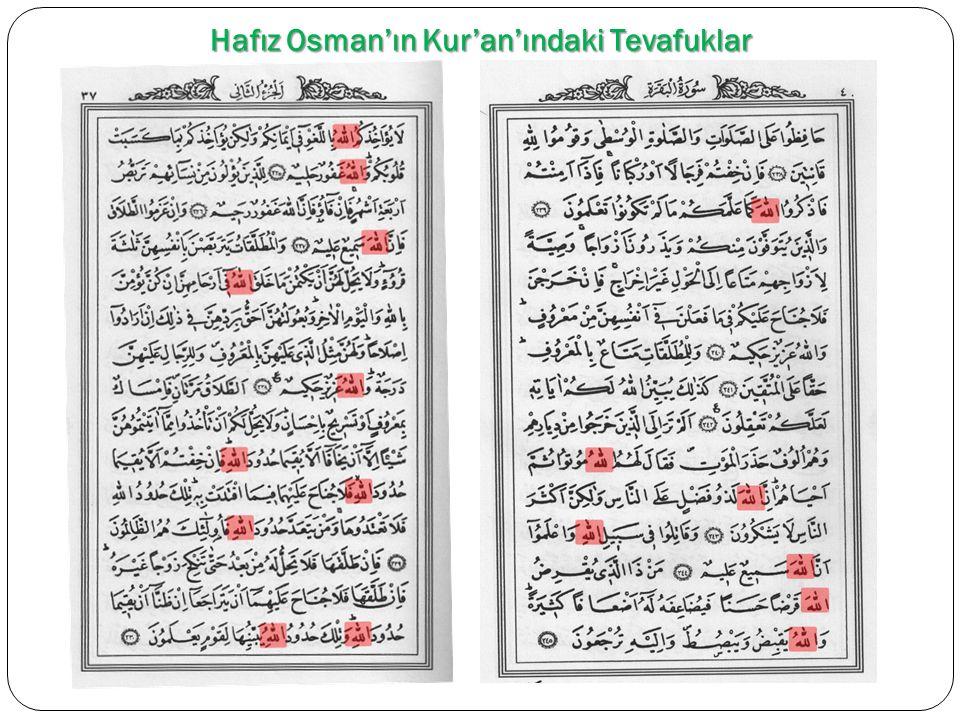 Tevafuğun Dayandığı Temel Ayetberkenar Harikası Ayetberkenar: Kur'an'ın Bütün sayfalarının ayet dura ğ ıyla bitmesi ve ayetlerin sayfa sonunda bölünmemesi demektir.