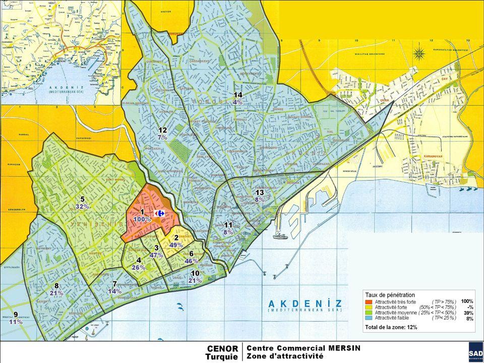 8 MERSİN ALIŞVERİŞ MERKEZİ – MÜŞTERİ ANKET ÇALIŞMASI - 2009 Sommaire MAP
