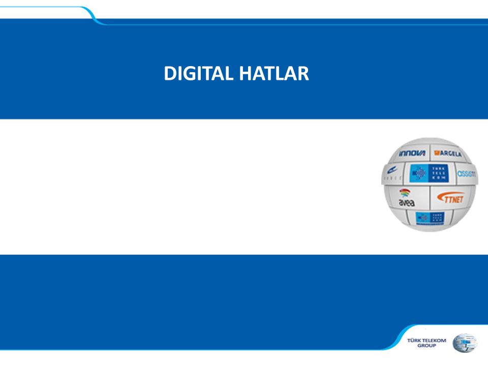 , DIGITAL HATLAR