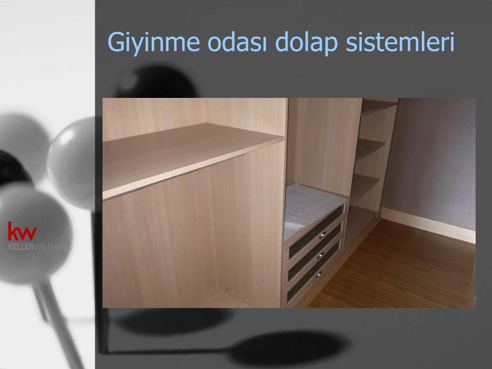 Giyinme odası dolap sistemleri