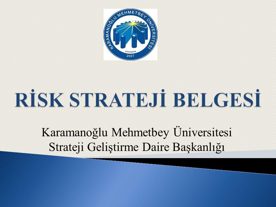  Üniversitemiz risk yönetimine ilişkin değerlendirme ve önerilerini Rektöre sunar, Koordinatöre bildirir.