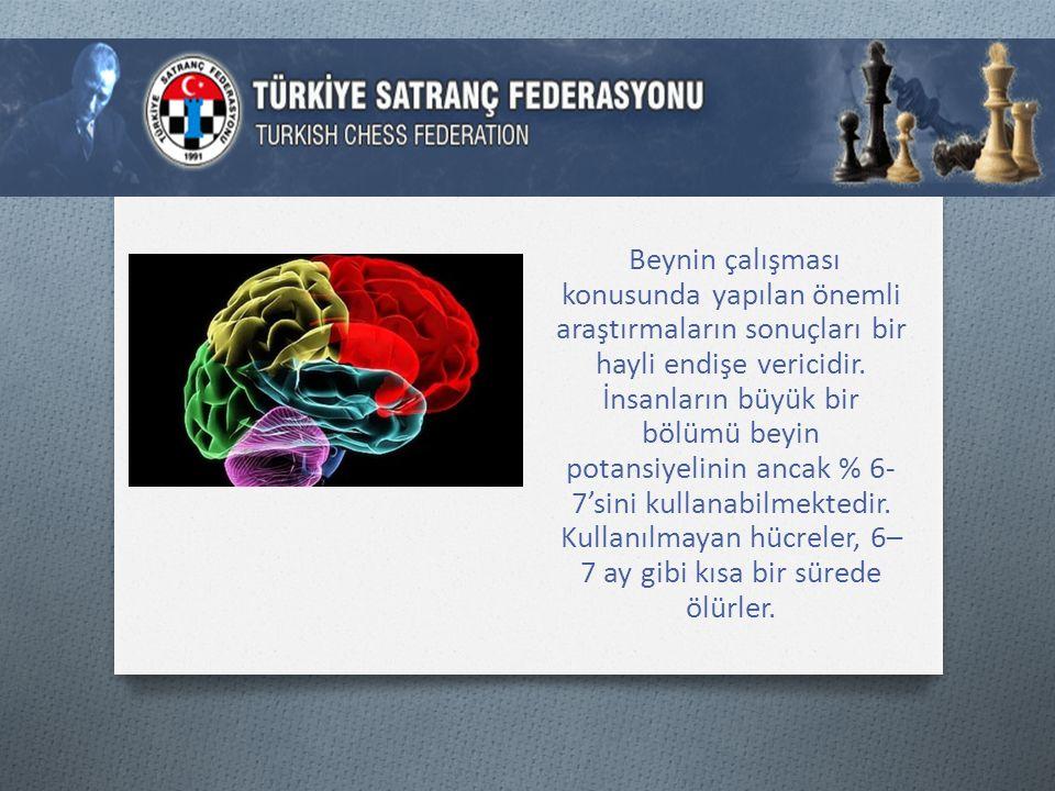 Beynin çalışması konusunda yapılan önemli araştırmaların sonuçları bir hayli endişe vericidir.