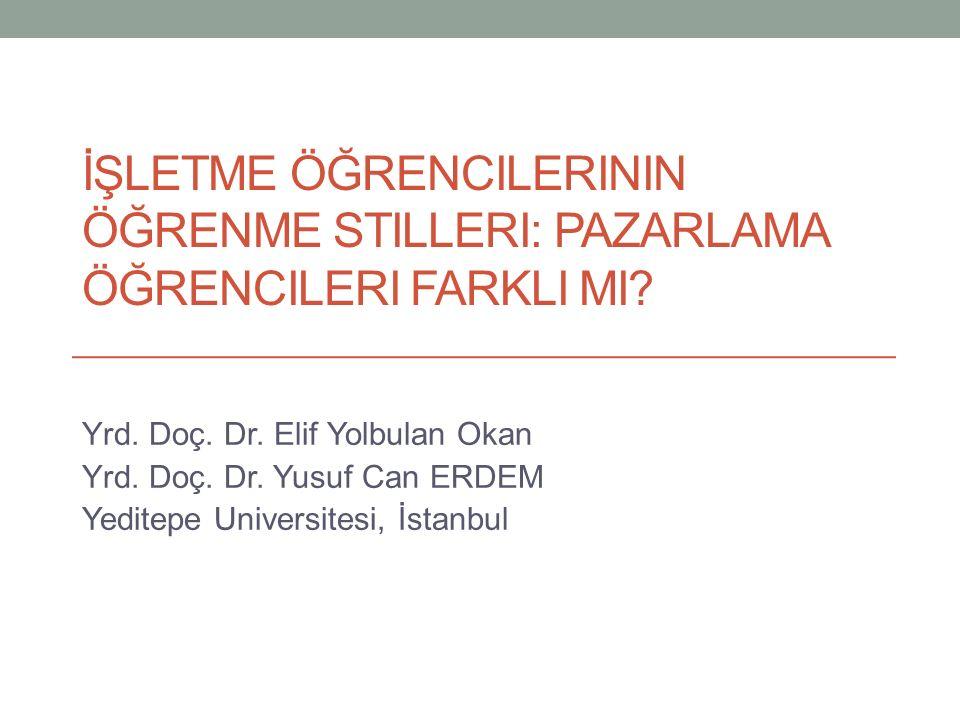 Giriş Türkiye'de artan eğitim kurumları İşletme eğitiminden iş dünyasının beklentileri İşletme eğitimi sonrası karşılaşılan problemler Pazarlama bölümlerine olan ihtiyaç ve bu kapsamda yapılması gereken altyapı çalışmaları (program geliştirme/ders tasarımları) Öğrencilerin mensubu olduğu kuşağı daha yakından tanıma ihtiyacı 20.