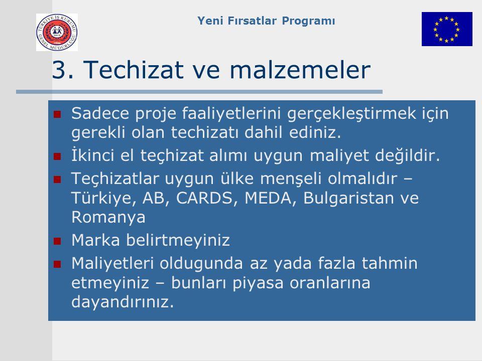 Yeni Fırsatlar Programı 3.