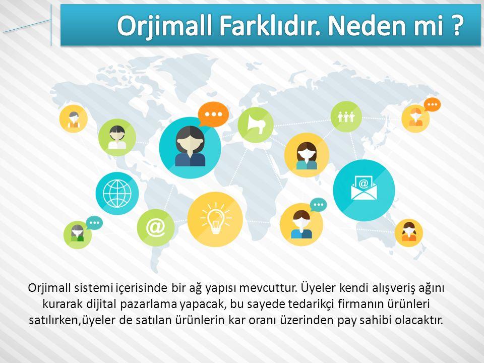 Tedarikçi Firma; Orjmall üzerinden ürünlerini satmak, reklamını yapmak ve firma ismini marka haline getirmek isteyen kurum ve kuruluşlardır.