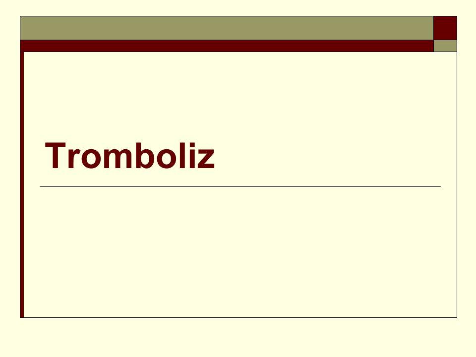 Tromboliz
