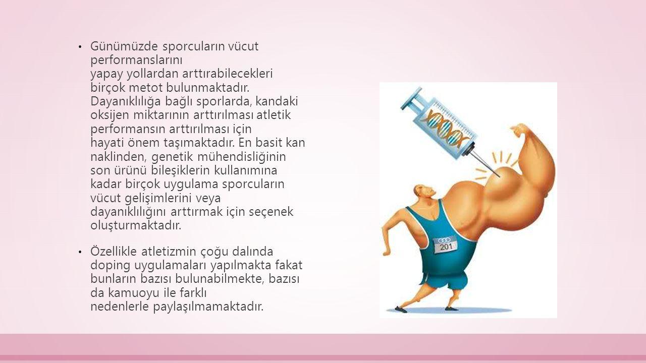 Türkiye'de doping kontrolü vazifesi 30.9.1962'de çıkarılan bir kararname ile kurulan komisyona verilmiştir.