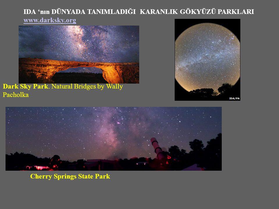 Dark Sky Park.