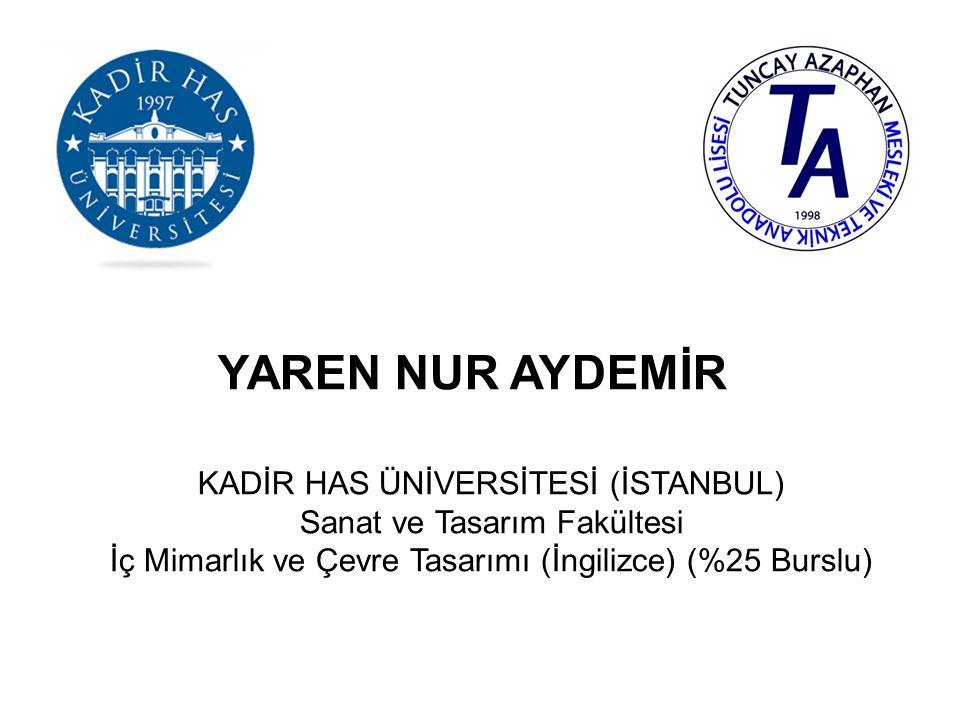 ÖYKÜ BAŞAK ERTEK KADİR HAS ÜNİVERSİTESİ (İSTANBUL) Adalet Meslek Yüksekokulu Adalet (Ücretli)