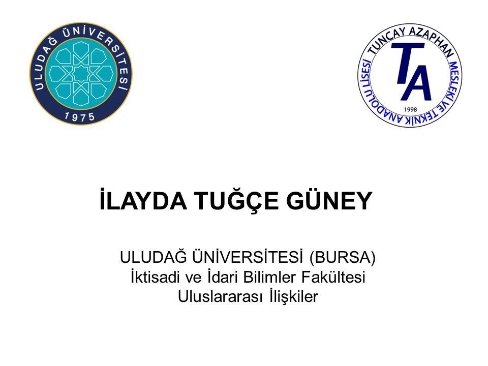EDA ELİBOL BEYKENT ÜNİVERSİTESİ (İSTANBUL) Uygulamalı Bilimler Yüksekokulu Bankacılık ve Finans (Tam Burslu)