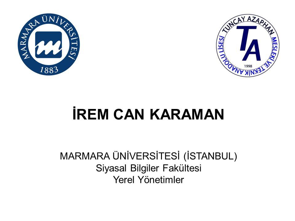 TUĞÇE TOYGAN MARMARA ÜNİVERSİTESİ (İSTANBUL) İletişim Fakültesi Radyo, Televizyon ve Sinema