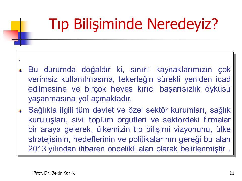 Prof.Dr. Bekir Karlık11.