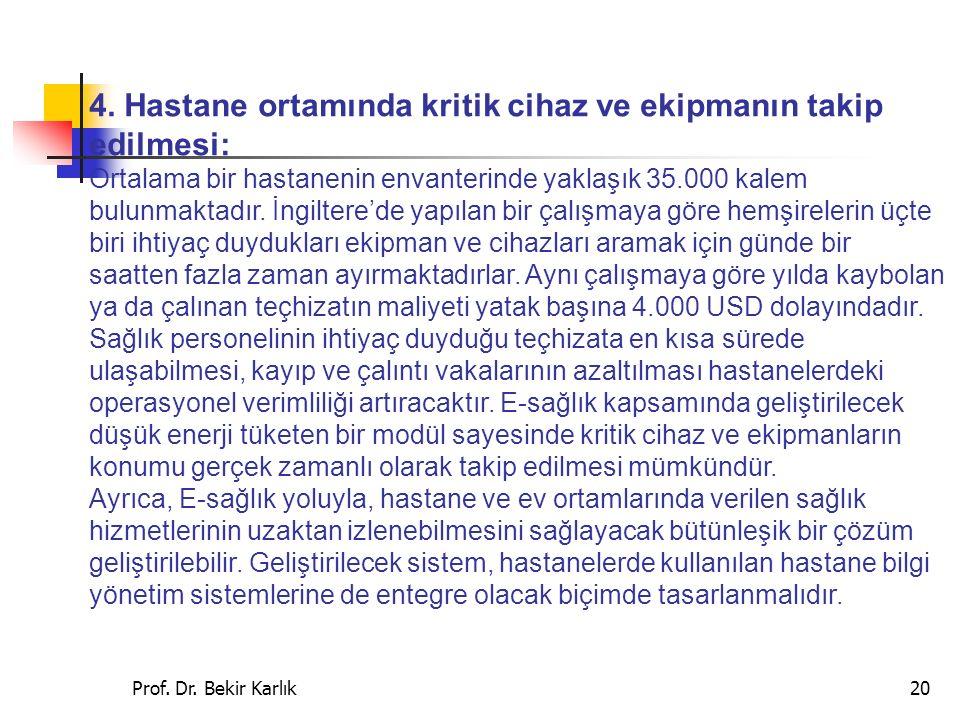 Prof.Dr. Bekir Karlık20 4.