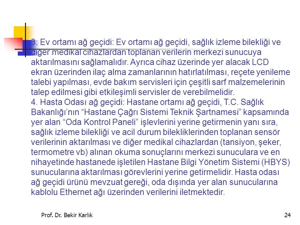 Prof.Dr. Bekir Karlık24 3.