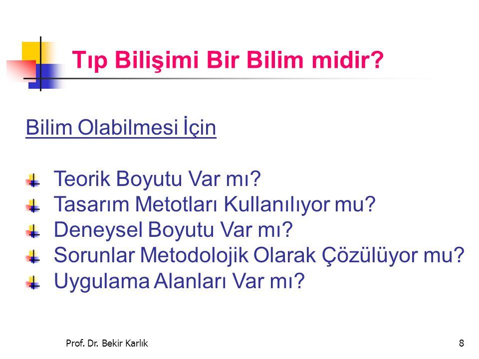 Prof.Dr. Bekir Karlık19 3.