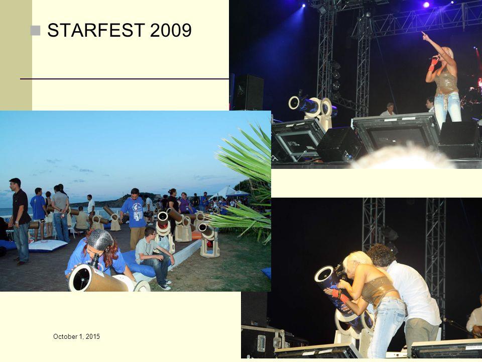 STARFEST 2009 October 1, 2015 102