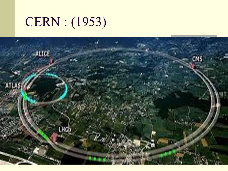 CERN : (1953)