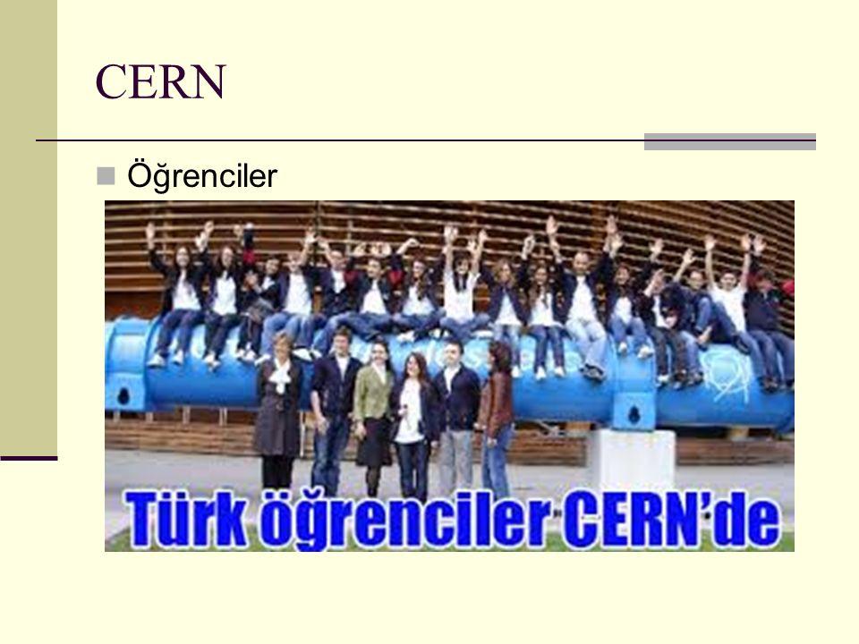 CERN Öğrenciler
