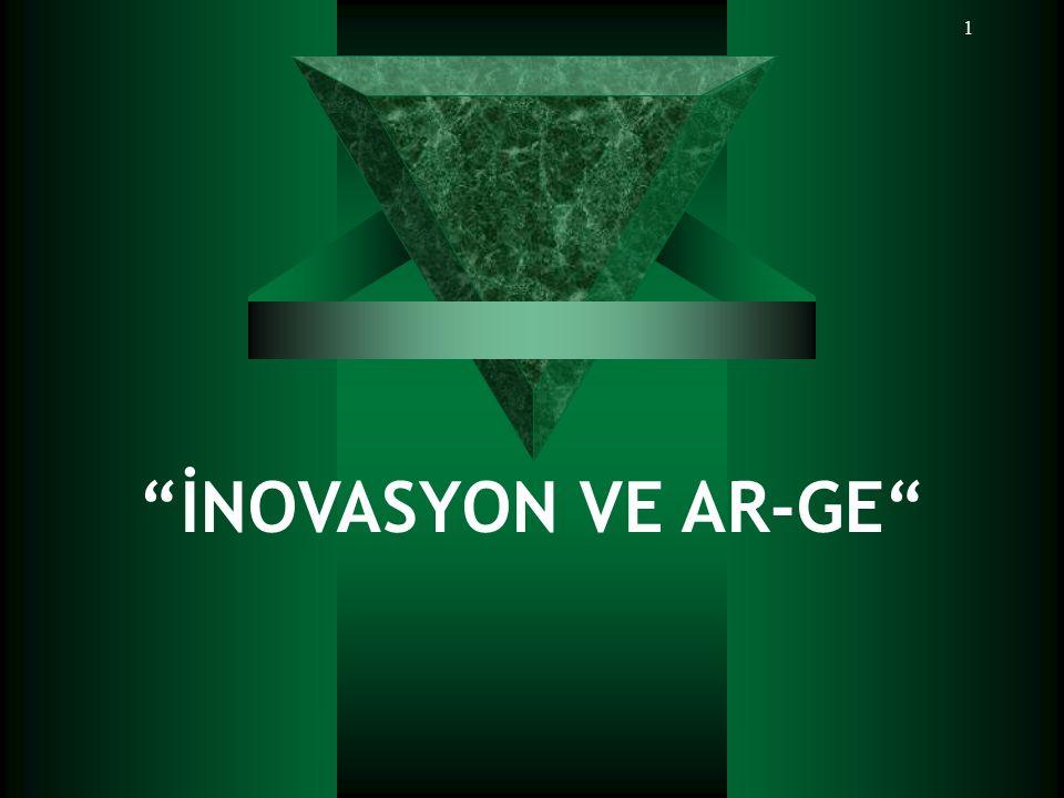 """1 """"İNOVASYON VE AR-GE"""""""