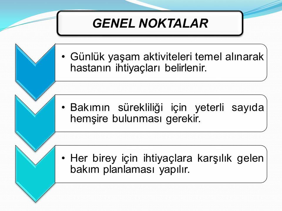 GENEL NOKTALAR