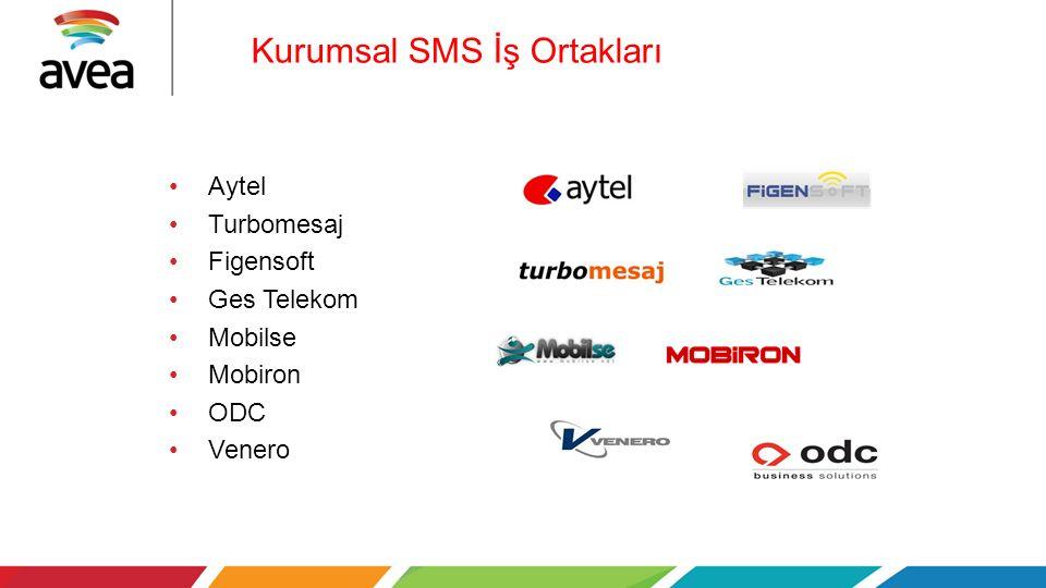 Kurumsal SMS İş Ortakları Aytel Turbomesaj Figensoft Ges Telekom Mobilse Mobiron ODC Venero