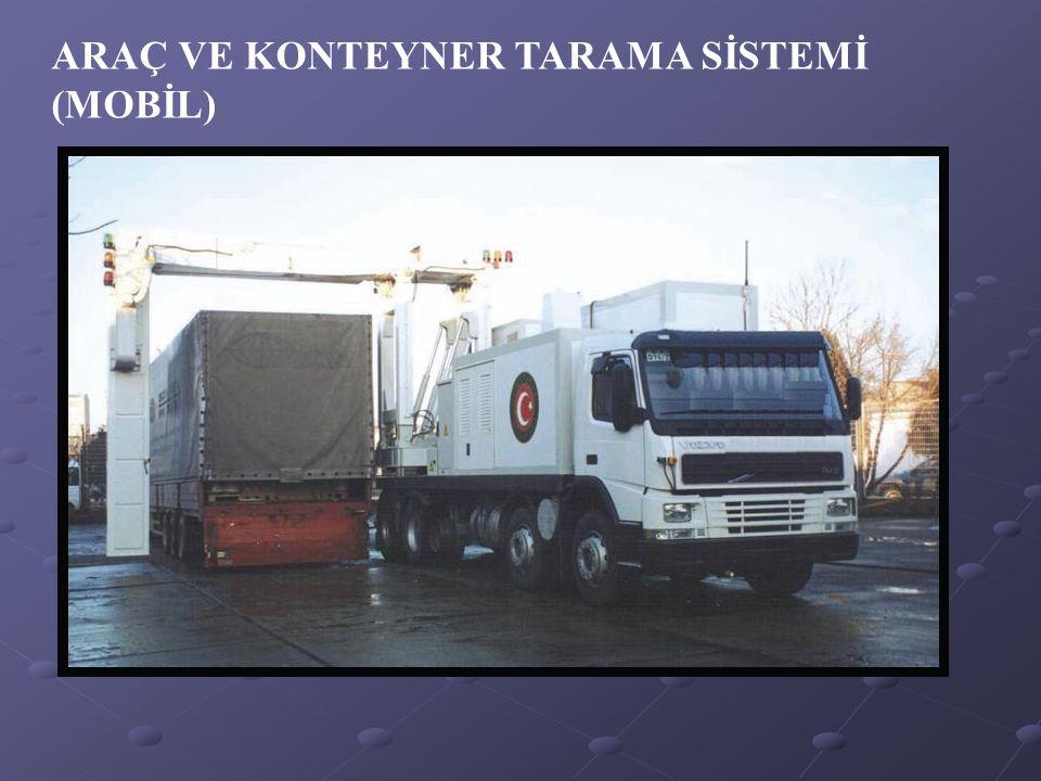 ARAÇ VE KONTEYNER TARAMA SİSTEMİ (MOBİL)